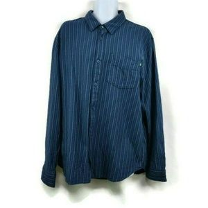 Vans Off The Wall Mens Long Sleeve Plaid Flannel